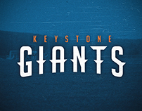 Keystone Giants Brand Redesign