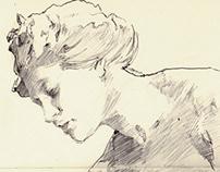 Museum sketches