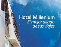 Piezas graficas Hotel Millenium