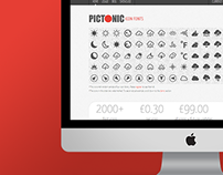 PICTONIC - Icon Fonts