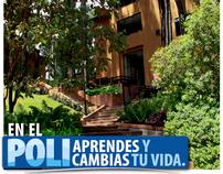Campañas comunicaciones Politécnico Grancolombiano