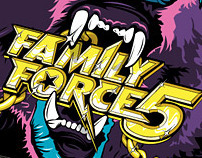 Family Force 5 - 2007 Backdrop