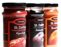 Packaging Redesign: St. Dalfour  jam ( Modern )