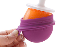 Zoku Round Pop Molds