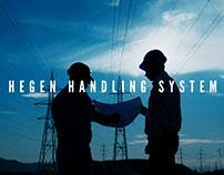 Hegen Handling System Branding