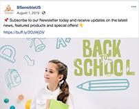 B-Sensible Back to School Newsletter
