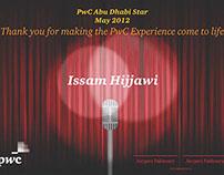 PwC Abu Dhabi Star Certificate