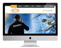 Security Guards organizers website template