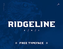 Ridgeline 201 / FREE Display Typeface