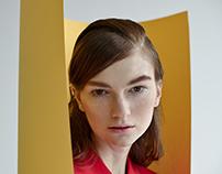 Fashion editorial with Anastasia Kizilova clothes