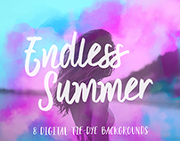 Endless Summer 8 Digital Backgrounds