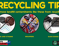 America Recycles Day - Landfill Contaminants