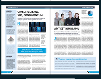 Newspaper & Newsletter Design