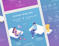 Juego es Responsable / Infographic Gambling vs. Gaming