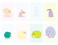 Illustration - Seven teeny sugar beings