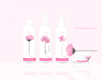 Packaging redesign: Innova hair products ( Feminine )