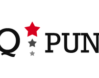 Q✭PUNTER / logotype and web