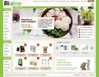 Bioline webshop