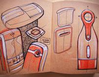 Internship Sketch Book 2012