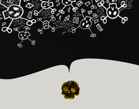 Skull / Skullz | VENTILATE POSTER SERIES 08
