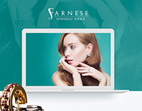 Farnese Gioielli Roma - website design