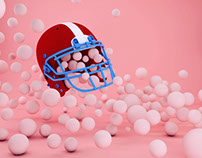 C4D -play with balls