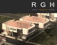 RGH İnşaat Corporate Site // 2011, Freelance