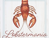 Lobstermania Poster