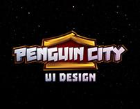 Penguin City UI Design