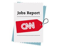 CNN Jobs Report Interactive Infographic