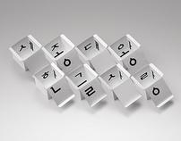 45˚ Korean Alphabet Box