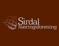 Sirdal Næringsforening Logo design