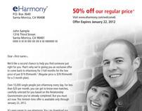 eHarmony Customer Winback Direct Mail