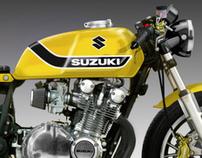 "SUZUKI GS 1100 "" YELLOW WEAPON"""
