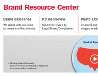 Bank of America Brand Resource Web Site