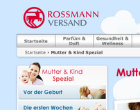 "Rossmann ""Mother & Child Special"""