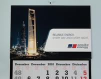 Kalender mit Notstrom