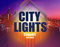 city lights flyer