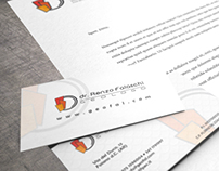 Renzo Falaschi | Geologist | Logo & Business card