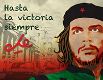 POP art - el Che