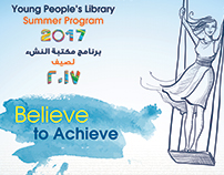 Young People's Library Summer Program (Believe to Achie