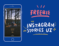 (UPDATED) Instagram Stories Interface - PSD Freebies