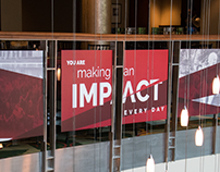 Impact Stairwell Signage