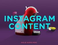 Dolce Gusto Perú - Social media content