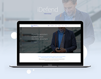 iDefend - Website design