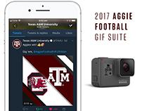 2017 Texas A&M University Football GIF Suite