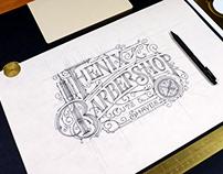 Fenix Barbershop | Logo | Knoxville, TN