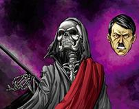 Ilustrações baseadas em contos do Miguel Sanches
