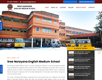 Website for SNE School