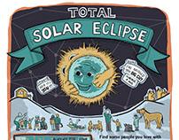 Solar Eclipse Promo Poster